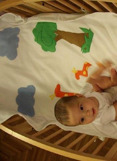 Petitsomething Battaniye Beyaz